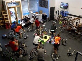 Ironman World Championships Watch Party Spin at Upper Echelon Fitness