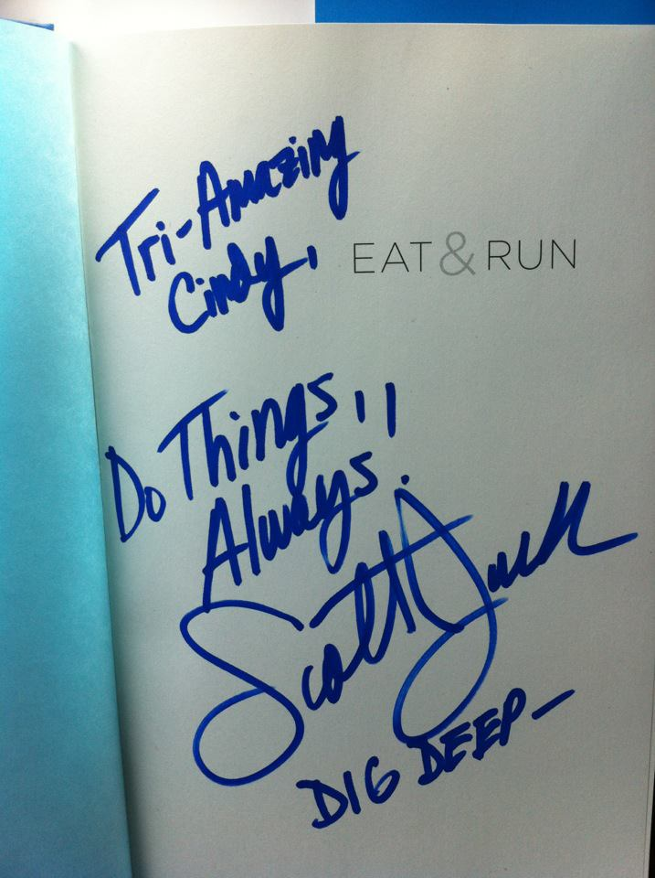 My message from Scott Jurek