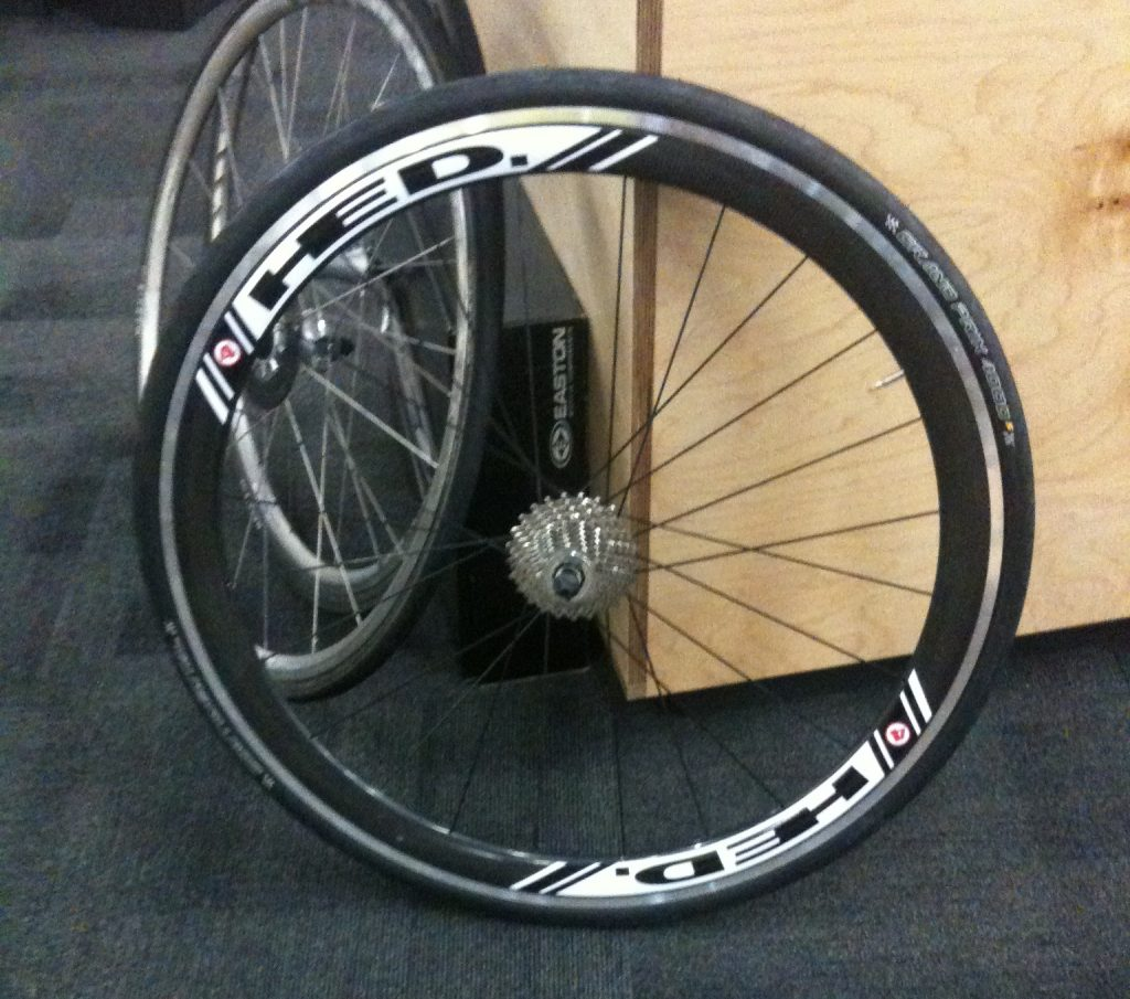 OJ's wheels from Vineman 70.3
