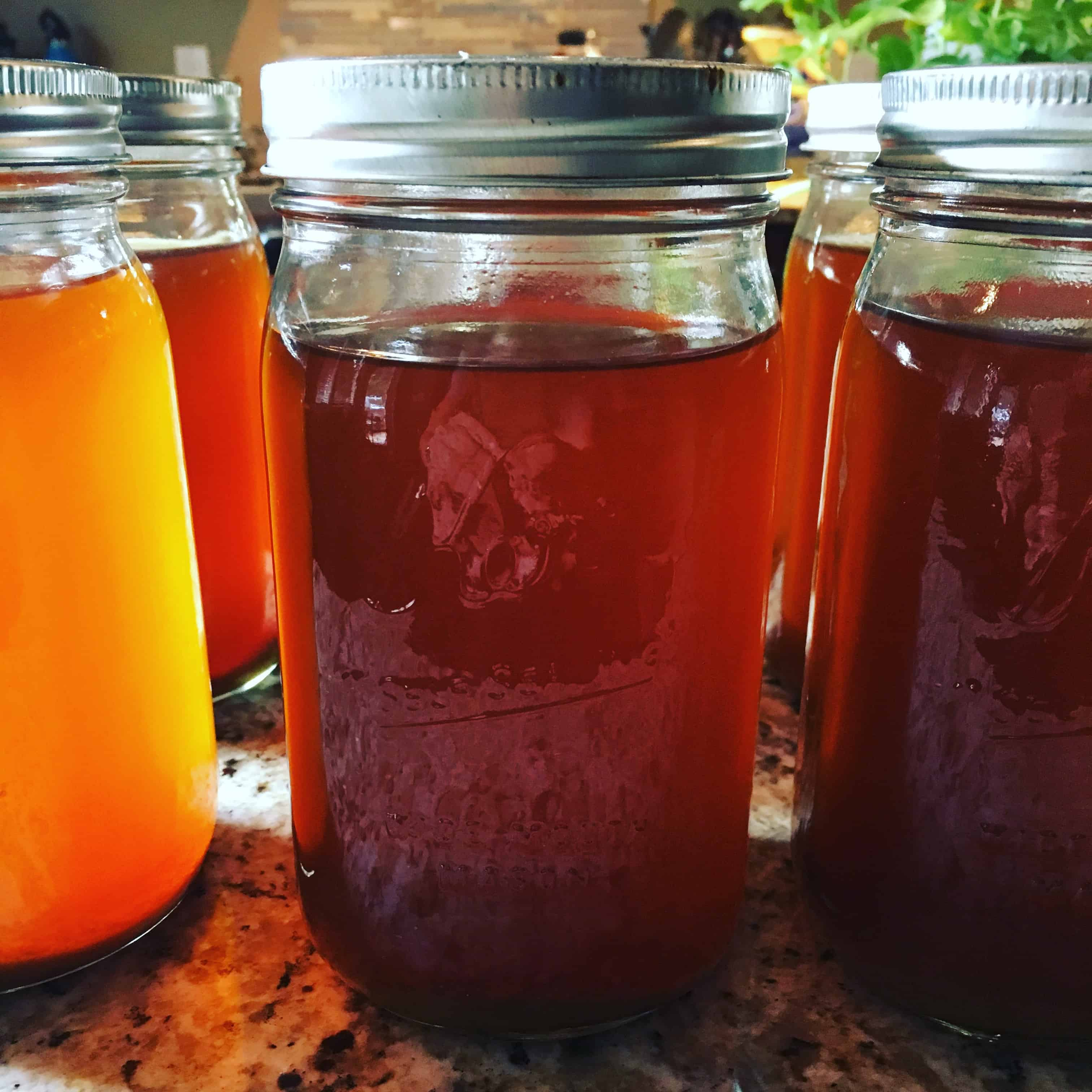Home canned vegetable stock. https://trimazing.com