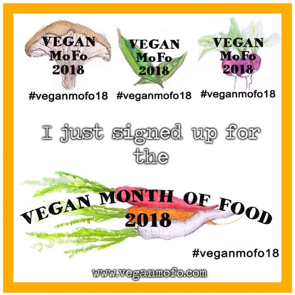 Vegan MoFo 2018