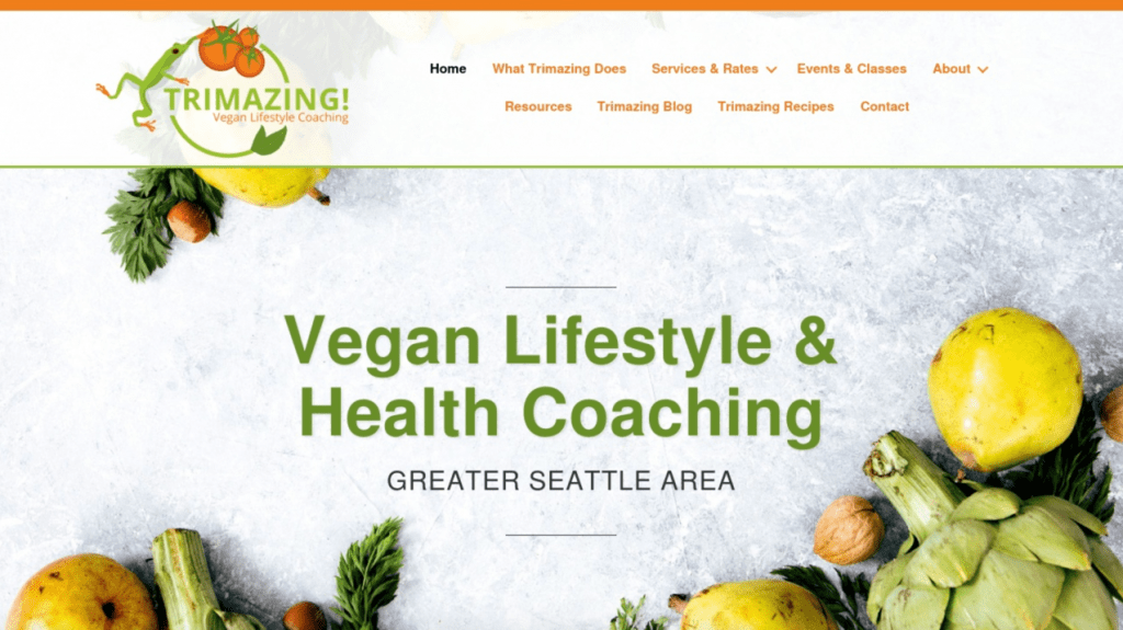Trimazing Vegan Lifestyle and Health Coaching