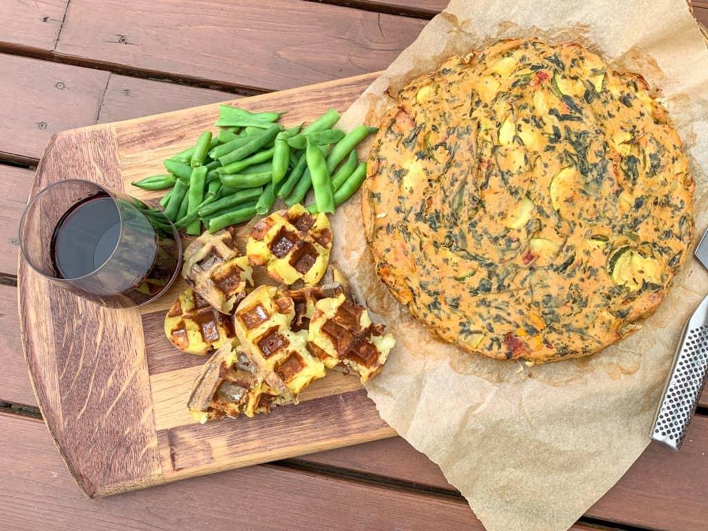 Dinner platter fit for a king!