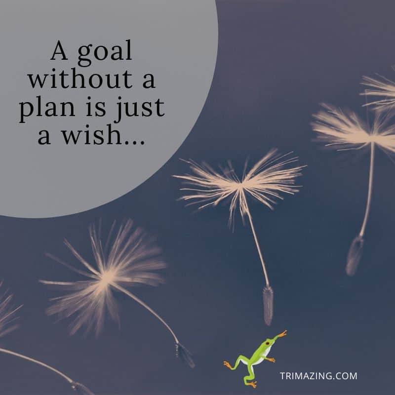 Why trust your goals to the wind?