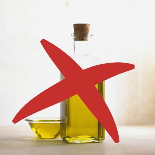 Oil is not a health food. That includes olive oil!