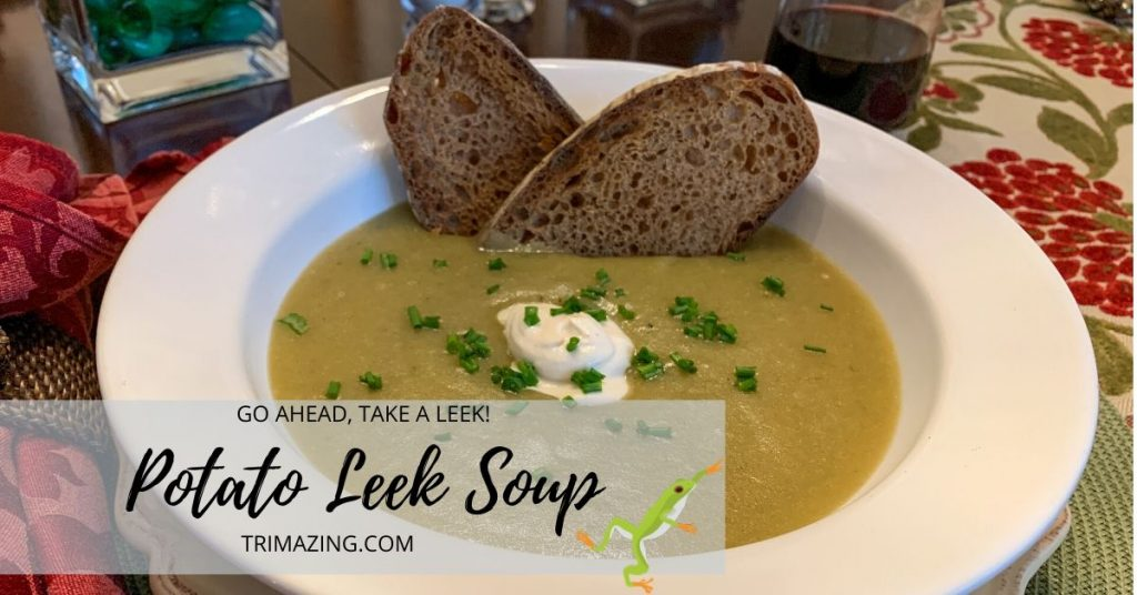 Potato Leek Soup FB