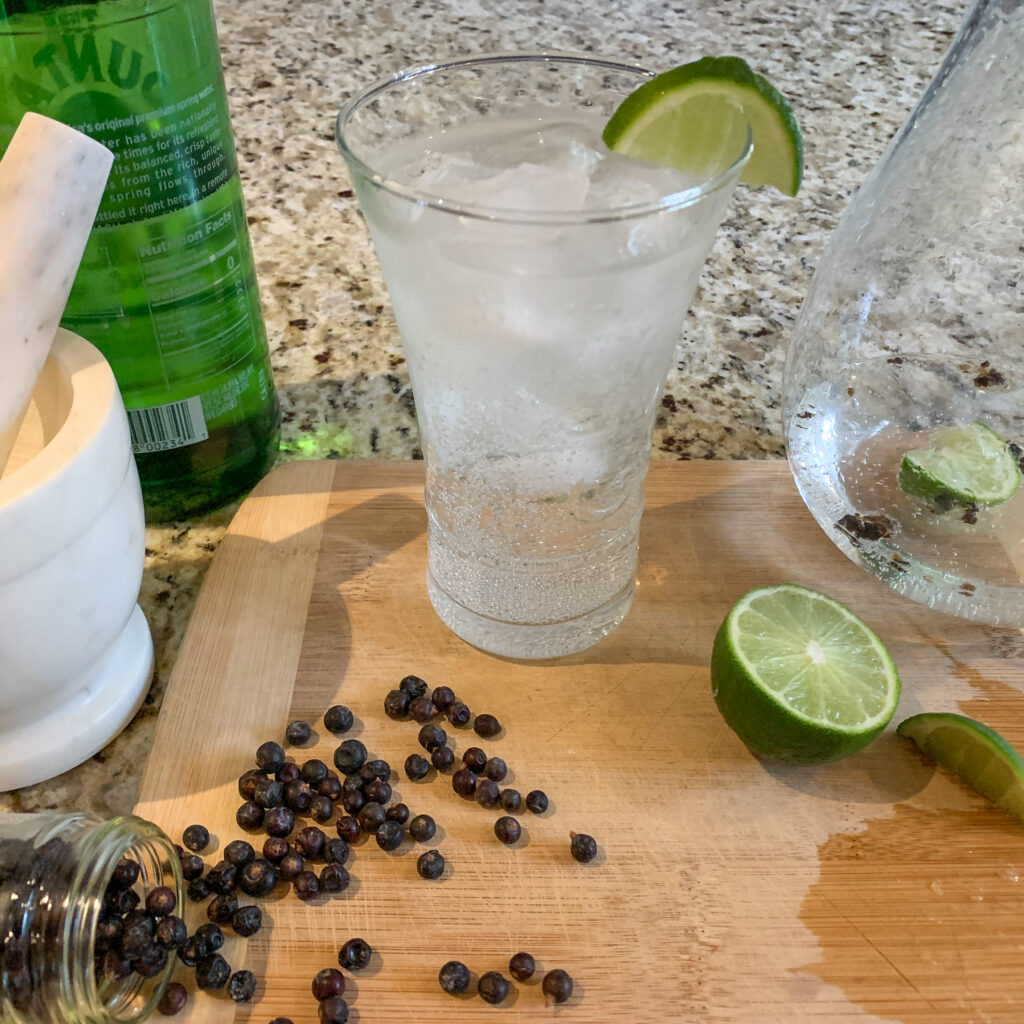 Why not try a No-Gin Fizz? Photo by Cindy Thompson, Trimazing.com